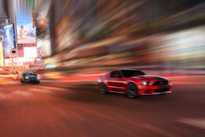 Car Chase Scene in Photoshop CS3