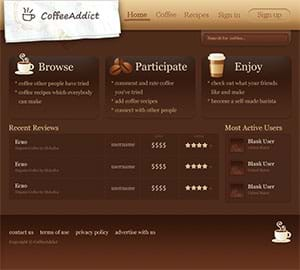Coffee Addict Site